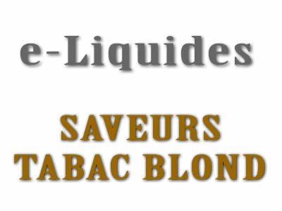 Saveur Tabac Blond