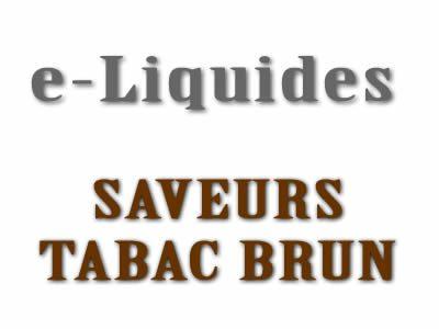 Saveur Tabac Brun